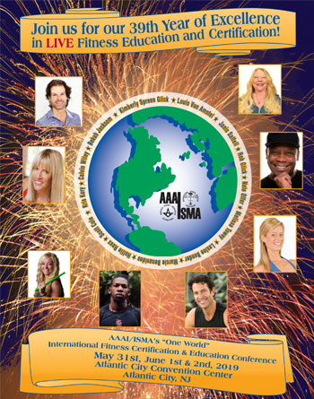 One World Fitness Conference Atlantic City 2019 Brochure