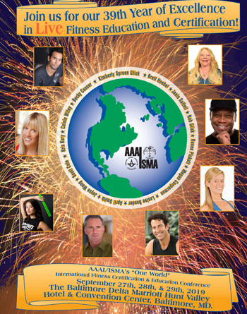 One World Fitness Conference Baltimore 2019 Brochure
